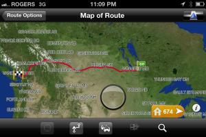 Current position Winnipeg